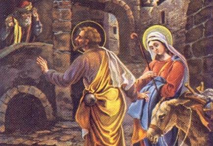 Szállást keres a Szent Család 2019