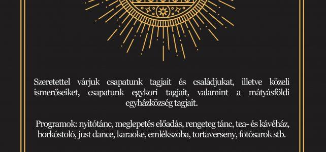 412-es Kalazanti jubileumi cserkészbál