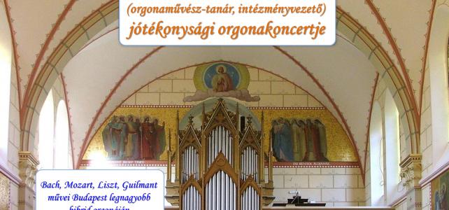Orgona megáldása 110.évforduló